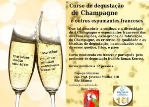 Curso de Degustação de Champagne